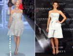 Kate Beckinsale In Christian Dior - 'Underworld Awakening' Berlin Photocall