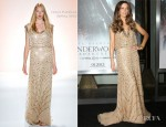 Kate Beckinsale In Jenny Packham - 'Underworld Awakening' LA Premiere