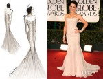 Kate Beckinsale In Roberto Cavalli - 2012 Golden Globe Awards