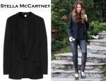 Kate Beckinsale's Stella McCartney Mathilda Wool Twill Blazer And Fendi Heeled Pumps