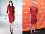 Kate Bosworth In Antonio Berardi - 'Black Rock' Sundance Film Festival Premiere