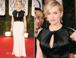 Kate Winslet In Jenny Packham - 2012 Golden Globe Awards