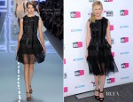 Kirsten Dunst In Christian Dior - 2012 Critics' Choice Awards