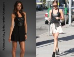 Kristin Cavallari's Mason by Michelle Mason Leather Tank Dress