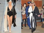 Lady Gaga In Chanel - Narita International Airport