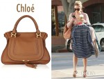 Lauren Conrad's Chloé Marcie Large Leather Tote