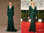 Lauren Dern In Andrew Gn - 2012 Golden Globe Awards
