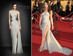 Lea Michele In Atelier Versace - 2012 SAG Awards