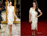 Lea Michele In Marchesa - 2012 People's Choice Awards