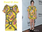 Lucy Hale's Paul & Joe Mariposa Sequined Mini Dress
