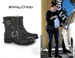 Mandy Moore's Jimmy Choo Youth Biker Boots