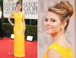 Maria Menounos In Blumarine - 2012 Golden Globe Awards