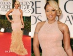Mary J Blige In Michael Kors - 2012 Golden Globe Awards