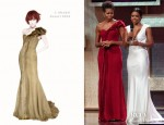 Michelle Obama In J. Mendel - 2012 BET Honors