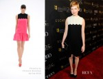 Michelle Williams In Victoria by Victoria Beckham - BAFTA Annual Awards Season Tea Party