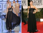 Mila Kunis In Christian Dior - 2012 Golden Globe Awards