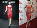 Miranda Kerr In Georges Chakra Couture - Qantas Airways Spirit of Australia Party