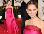 Natalie Portman In Lanvin - 2012 Golden Globe Awards