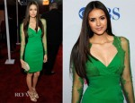 Nina Dobrev In Elie Saab - 2012 People's Choice Awards