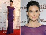 Odette Annable In Herve L. Leroux - 2012 Art of Elysium Heaven Gala