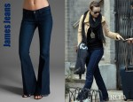 Olivia Wilde's James Play Girl Flare Jeans