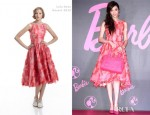 Pace Wu In Lela Rose - Barbie Taiwan Promotion