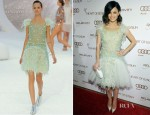 Rachel Bilson In Chanel - 2012 Art Of Elysium Heaven Gala