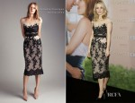 Rachel McAdams In Collette Dinnigan - 'The Vow' Germany Photocall