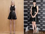 Rooney Mara In Dion Lee - 'The Girl With The Dragon Tattoo' Rome Photocall