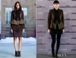 Rooney Mara In Givenchy - 'The Girl With The Dragon Tattoo' Madrid Photocall