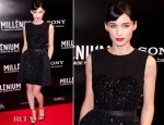 Rooney Mara In Louis Vuitton - 'The Girl With The Dragon Tattoo' Paris Premiere