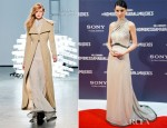 Rooney Mara In Rodarte - 'The Girl With The Dragon Tattoo' Madrid Premiere