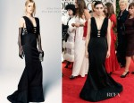Rooney Mara In Nina Ricci - 2012 Golden Globe Awards
