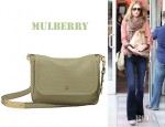 Rosie Huntington-Whiteley's Mulberry Evelina Grained Shoulder Bag