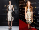Shailene Woodley In Jason Wu – BAFTA Awards Season Tea Party