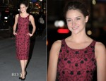 Shailene Woodley In L'Wren Scott - 2011 National Board Of Review Awards Gala