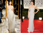 Shailene Woodley In Marchesa - 2012 Golden Globe Awards