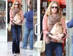 Sidewalk Style - Rosie Huntington-Whiteley's Mulberry Evelina Satchel