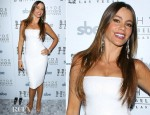 Sofia Vergara In Blumarine - New Year's Eve Opening At Bellagio
