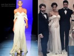 Sonam Kapoor In Jean Paul Gaultier Couture - 'Players' Dubai Premiere