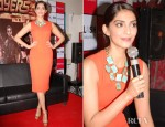 Sonam Kapoor In Victoria Beckham - 'Player' Press Conference