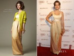 Sophia Bush In Chris Benz - 2012 Art of Elysium Heaven Gala