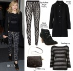 Steal Her Style - Chloe Moretz' Leather & Lace