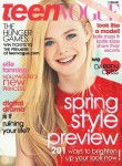 Elle Fanning For Teen Vogue February 2012