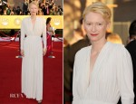 Tilda Swinton In Lanvin - 2012 SAG Awards