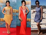 Vanessa Hudgens' 'Journey 2: The Mysterious Island' Australia Promo Tour Looks