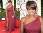 Viola Davis In Emilio Pucci - 2012 Golden Globe Awards