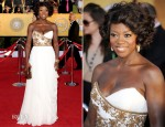 Viola Davis In Marchesa - 2012 SAG Awards