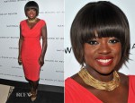 Viola Davis In Lauren by Ralph Lauren - 2011 National Board Of Review Awards Gala