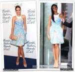 Who Wore Peter Pilotto Better? Amber Le Bon or Alesha Dixon